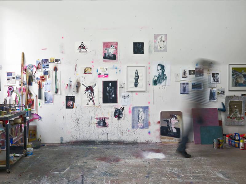 Atelier von Ekkehard Tischendorf in Dresden Hellerau